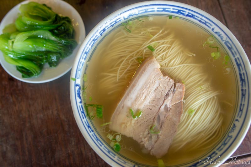 同得興の蘇州麺