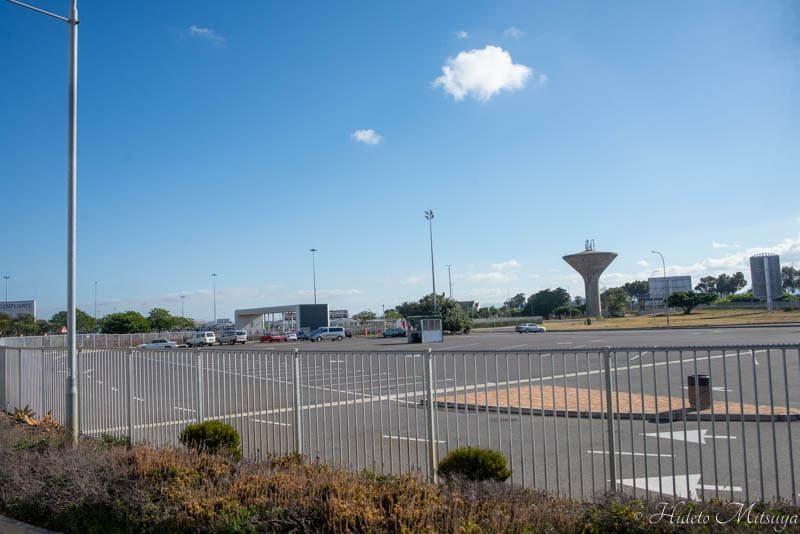 ケープタウン国際空港の駐車場