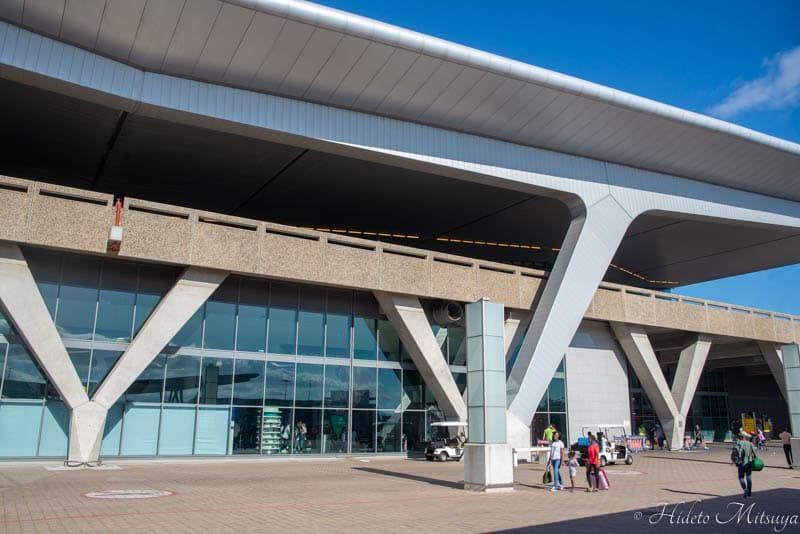 ケープタウン国際空港外観