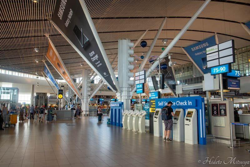 ケープタウン国際空港内部