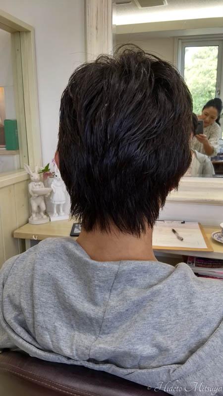 ヘアドネーション後の髪の長さ