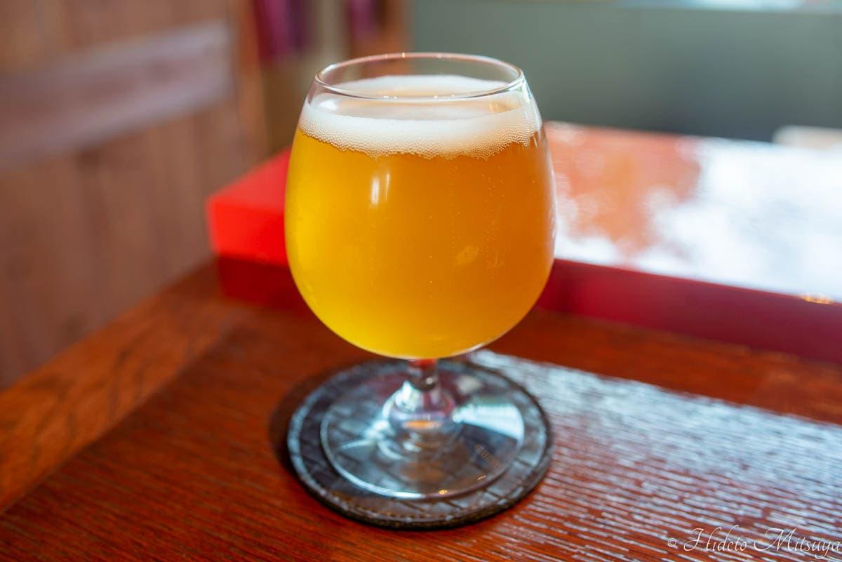 強羅ブリュワリーのベルジャンスタイル・ヴィット・ビール「琥珀」