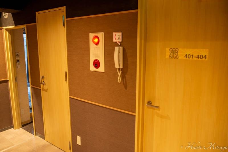 Hostel East57別館内部の様子