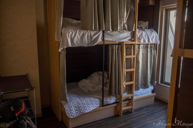 Hostel East57ドミトリー室内