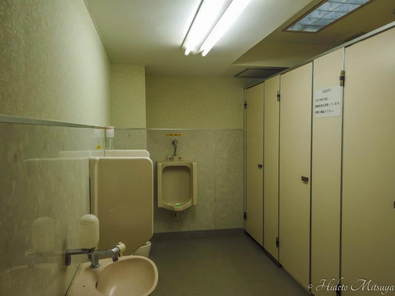 カプセルホテル旅籠屋のトイレ
