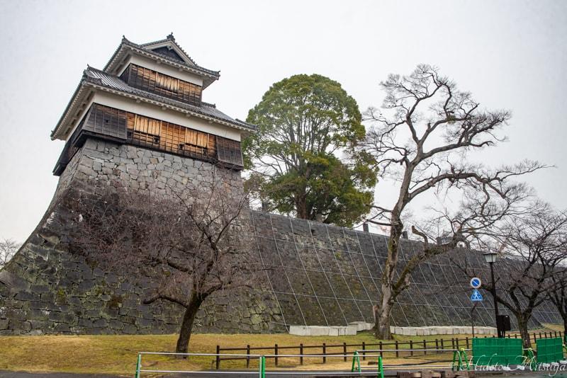 熊本城の未申櫓
