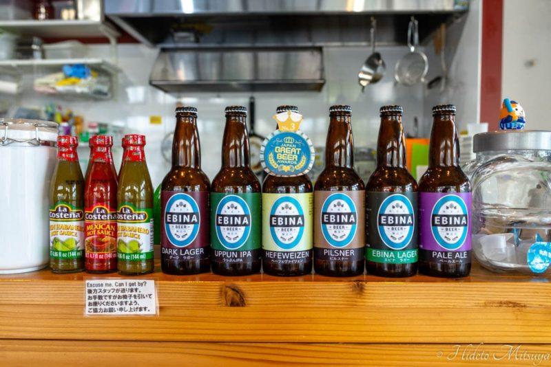 エビナビールの瓶ビールラインナップ